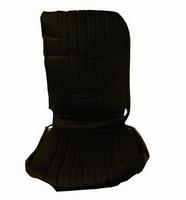 2CV Onderdelen - hoes stoel links zwart 1rechte hoek