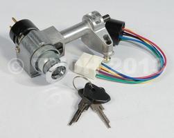DS Onderdelen - Contactslot nieuw type hydraulique met 2 sleutels