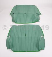 2CV Onderdelen - set zetelhoezen  groen azam