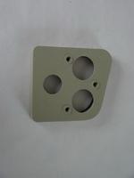 2CV Onderdelen - achterlichtplaat rechts grijs