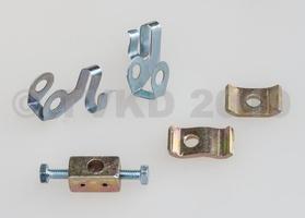 2CV Onderdelen - bevestiging verwarmingskabels