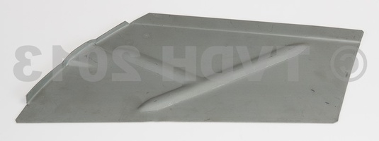 DS Onderdelen - Plaat achter wasbord zijkant links