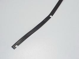 2CV Onderdelen - rubber achtervleugel zwart