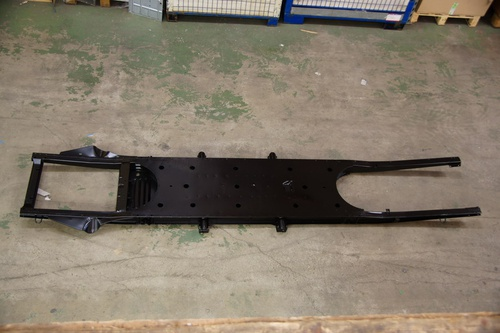 chassis kataforese met attest en chassis nr /DEGRAAF-CHASSIS