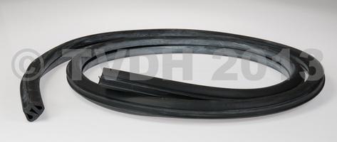 DS Onderdelen - Voorruitrubber zwart