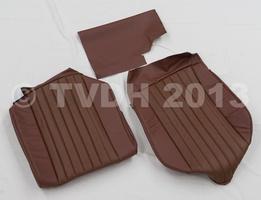 DS Onderdelen - Hoes voorstoel bruin skaï