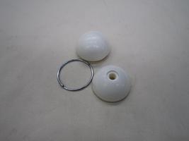 2CV Onderdelen - schakelpookknop wit