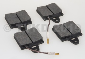 SM onderdelen - Set remblokken achter SM 1972-1975