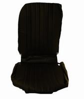 2CV Onderdelen - hoes stoel rechts zwart 1 rechte hoek