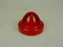 2CV Onderdelen - achterlichtglas rood