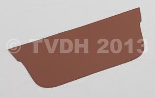 DS Onderdelen - Hoedenplank bekleding bruin skaï