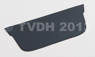 DS Onderdelen - Hoedenplank bekleding zwart skaï