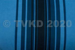 Nieuw op website - set zetelhoezen blauw gestreept 2 stoelen  symm/1 bank met zijkanten