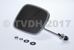 DS Onderdelen - Spiegel groot RVS links