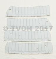 DS Onderdelen - 4 bekleding bovenkant deur wit skaï Pallas