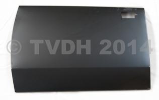 DS Onderdelen - Buitenhuid linker achterdeur, nieuw type klink