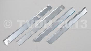 SM onderdelen - Dorpelbeplating INOX     SM