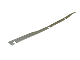 2CV Onderdelen - rubber achtervleugel transparant