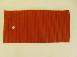 2CV Onderdelen - linnen dak rood binnensluiting