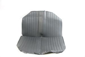 2CV Onderdelen - hoes achterbank zwart skai met zijkant