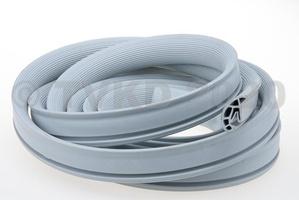 DS Onderdelen - Witte rubber dakrand, non Pallas