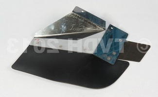 DS Onderdelen - Spatlap Break achter met INOX bevestiging rechts