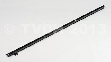 DS Onderdelen - Afdekstrip electr.draad in koffer, zwart gemoffeld
