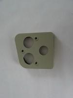 2CV Onderdelen - achterlichtplaat links grijs