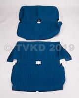 AMI 6  /  AMI 8 Onderdelen - set zetelhoezen blauw ami 6  2 banken