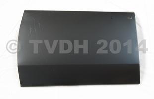 DS Onderdelen - Buitenhuid linker achterdeur, oud type klink