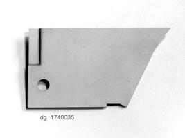 2CV Onderdelen - rep deel tss voorvleugel-deur links onder