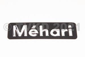 Mehari - Dyane - embleem mehari