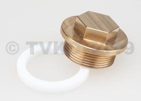 DS Onderdelen - Aflaatstop benzinetank + nylon ring