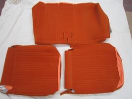 2CV Onderdelen - bekleding oranje spot
