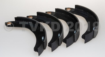 HY Onderdelen - set remschoenen voor vanaf 1962  55 mm (nieuw)