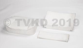 DS Onderdelen - Schuimset voorstoel 3-delig, stoel met draaiknop
