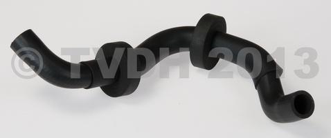 DS Onderdelen - Voorverwarmingsslang luchtschuif inj, achterkant waterpomp