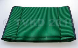 2CV Onderdelen - zetelbekleding bayadere groen