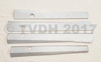 DS Onderdelen - Dorpelbeplating Aluminium Break