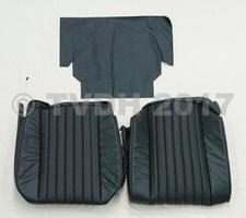 DS Onderdelen - Hoes voorstoel zwart skaï