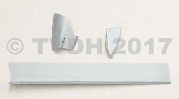 DS Onderdelen - Deurbak binnen  3-delig, rechts voor