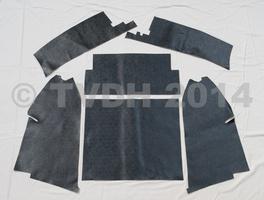 DS Onderdelen - Vloerbekleding set kofferbak zwart