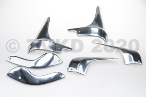 2CV Onderdelen - sierdelen vleugels 6 stuks