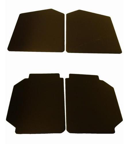 set deurpanelen zwart skai groot model