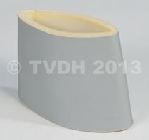 DS Onderdelen - Bekleding luchtinlaat rechterzijde, zilverkleurig