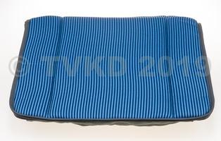 2CV Onderdelen - bayadere bekleding blauw