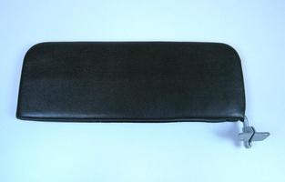 2CV Onderdelen - zonneklep links zwart