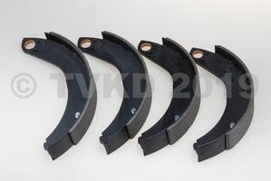 HY Onderdelen - Set remschoenen voor tot 1662 45 mm (nieuw)