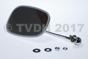 DS Onderdelen - Spiegel klein RVS rechts