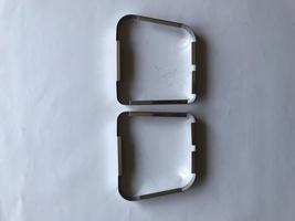 AMI 6  /  AMI 8 Onderdelen - sierlijstset achterlicht 2pk en ami 6 vanaf 1968